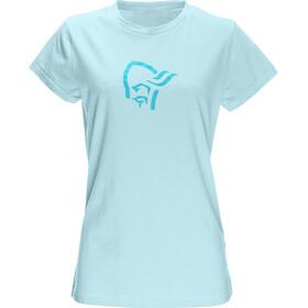 Norrøna W's /29 Cotton Logo T-Shirt Breeze